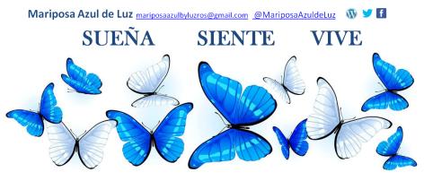 banner Mariposa Azul de Luz