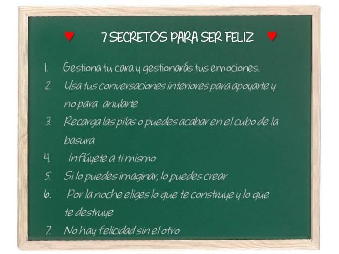 57. 7 secretos para ser feliz.