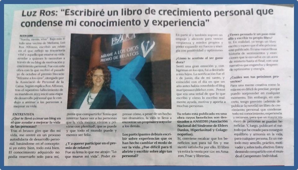 entrevista a Luz Ros