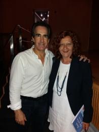 Luz Ros y Javier Iriondo
