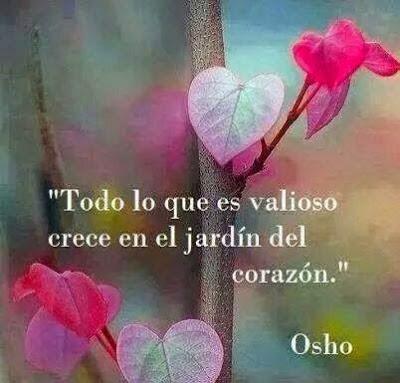 Reflexiones cortas para la vida. Osho. Compartida por mariposaazuldeluz.com