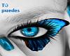 Tú puedes. Mariposa Azul de Luz.
