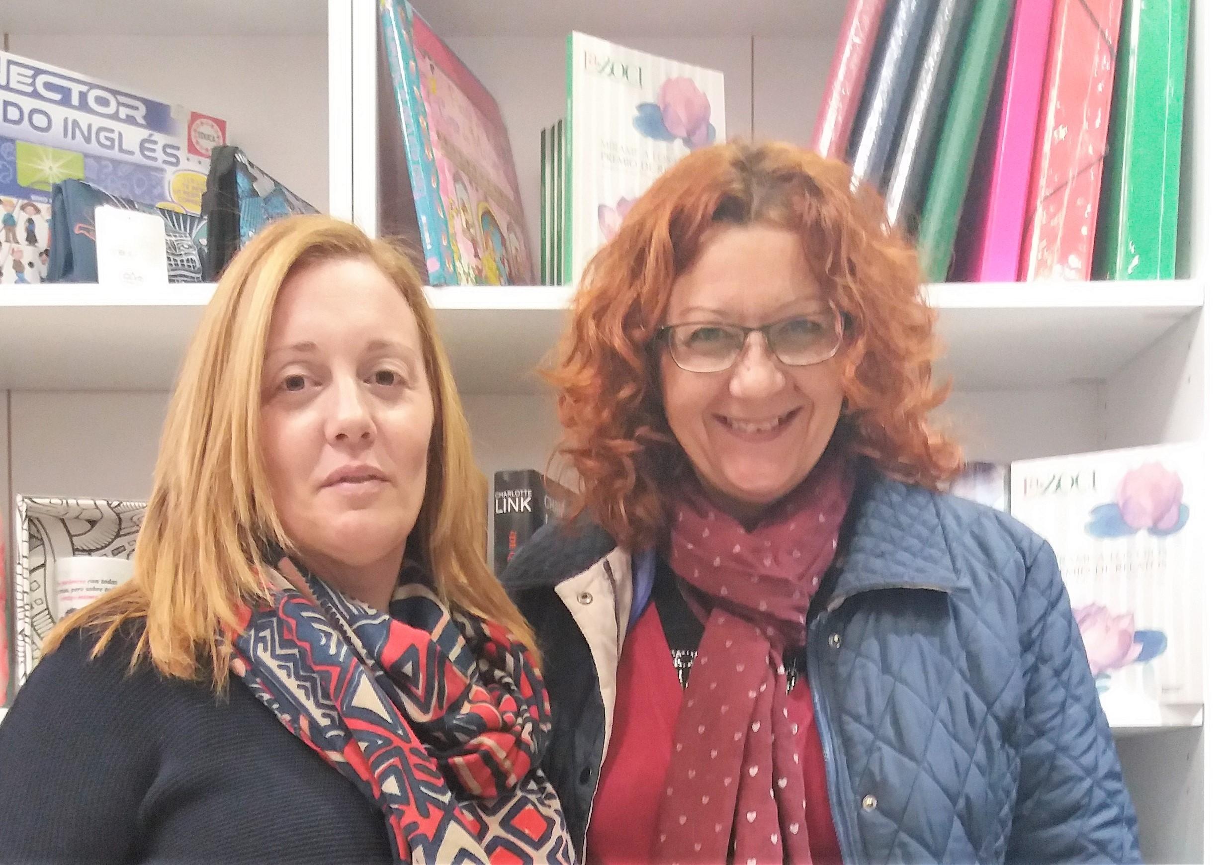 Eva Galindo y Luz Ros